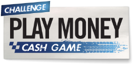 Winamax PLAY MONEY cash game challenge