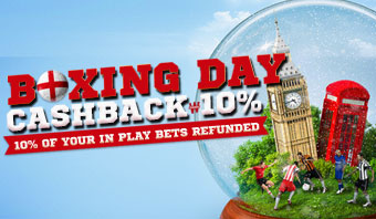 Cashback Boxing Day