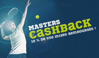 Masters cashback