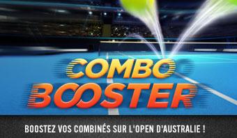 Open d'Australie – Combo Booster