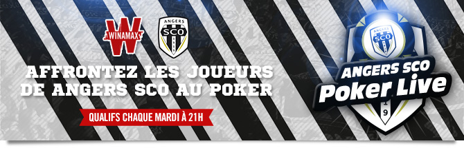 Affrontez les joueurs de Angers SCO au Poker
