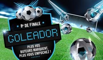 Promotion Goleador Ligue des Champions