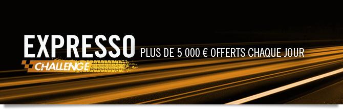 challenge expresso : plus de 5 000 euros de prix chaque jour !