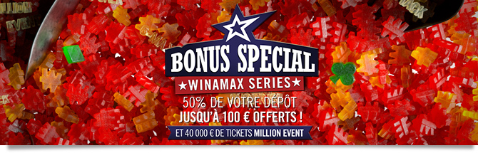 Bonus poker Winamax Series