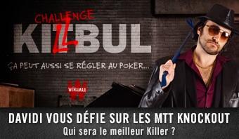 Challenge Killbul avec Davidi Kitai
