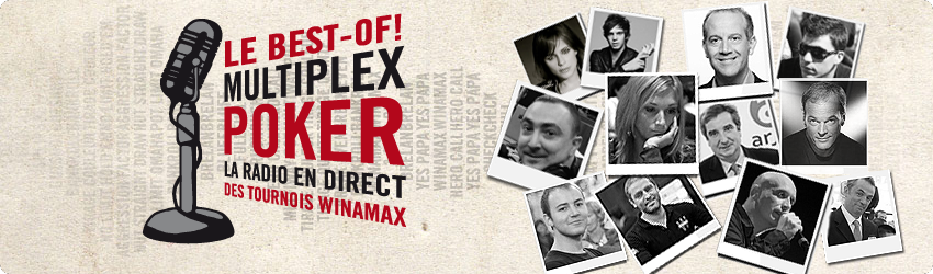 best of de la poker la radio Winamax