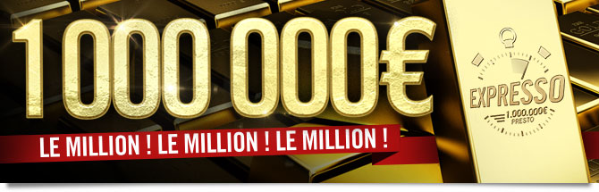 500 000 euros : l'expresso change de dimension !