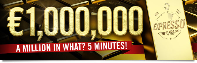 1,000,000 euros . A million in What? 5 Minutes!