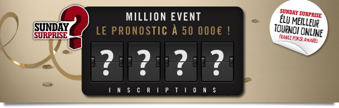 Million Event pronostic