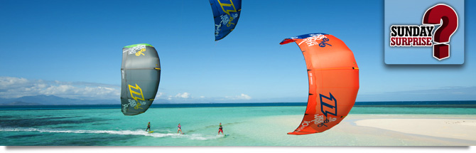 Kite Surfing in the Canaries