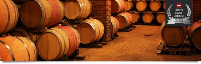 Eine Weinsammlung