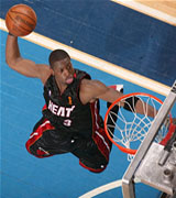 Wade dunking