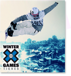 Winter X Games à Tignes