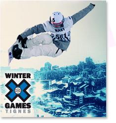 Winter X Games à Tignes