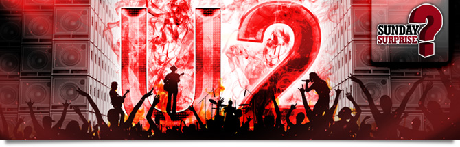 U2 au Madison Square Garden