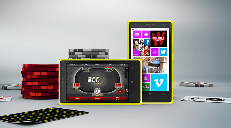 Winamax Poker sur Windows Phone