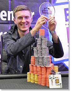 Steven King vainqueur du W P O 2011