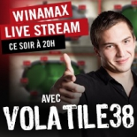 Guillaume Diaz en direct sur Twitch lundi soir