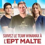 Le Team Winamax à l'assaut de l'EPT Malte