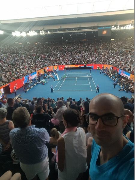Sylvain Loosli Open Australie
