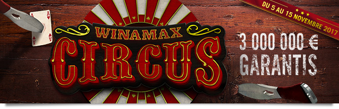 Winamax Circus Bandeau