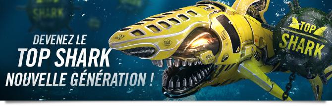 Top Shark Bandeau