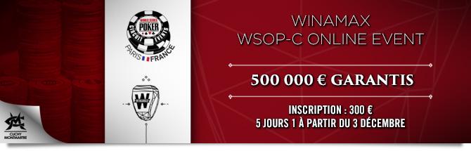 WSOPC Online Event Bandeau