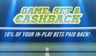Game, set & cashback