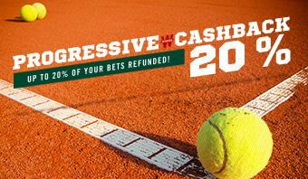 Progressive Cashback