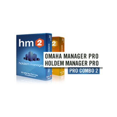 Dual Pro combo: Hold'em & Omaha Manager PRO 2