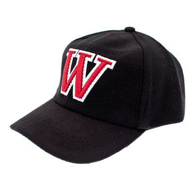 Casquette noire logo W en relief