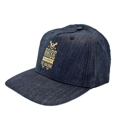 Casquette navy Raise against the machine