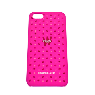 Coque rigide rose  'Call me I'm famous' pour iPhone 5