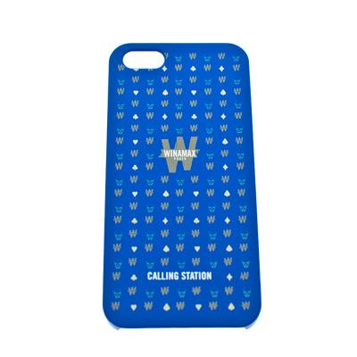 Coque rigide bleue 'tête de mort' pour iPhone 5