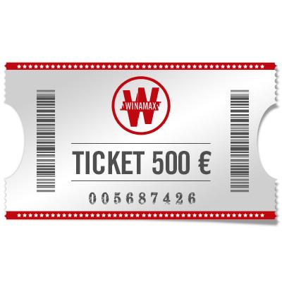 Ticket 500 €