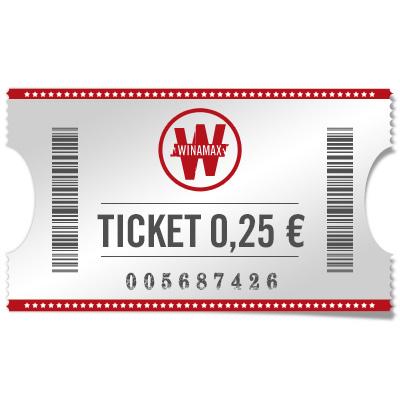 Ticket 0,25 €