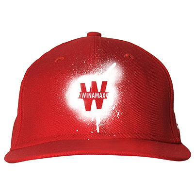 Casquette Rouge Spray