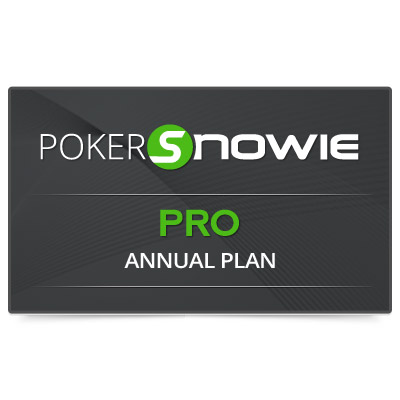 PokerSnowie PRO ANNUAL