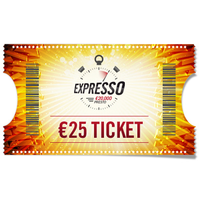 €25 Entry Ticket Expresso