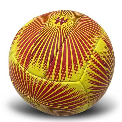 Nouveau Ballon de volley jaune et rouge