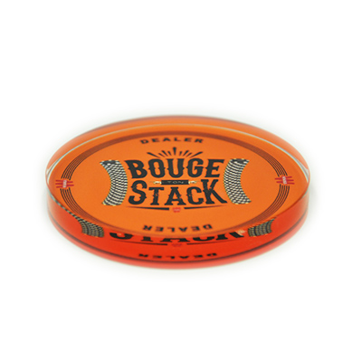 Bouton dealer orange Bouge ton stack