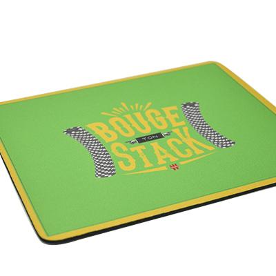Tapis de souris vert 'Bouge ton stack