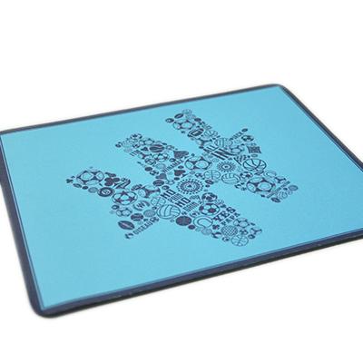 Tapis de souris bleu sport