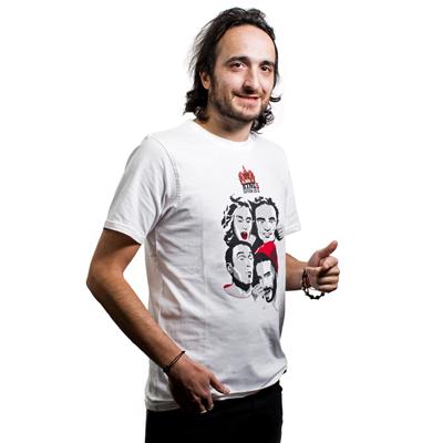 Tee shirt blanc KING5