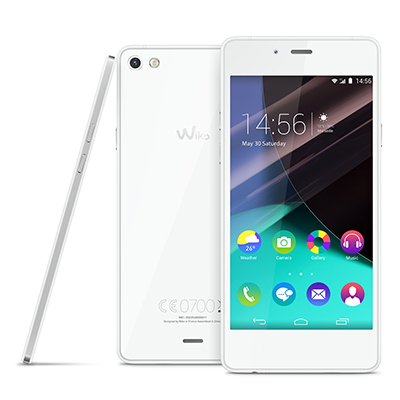 Wiko Highway Pure 4G Blanc/Argent