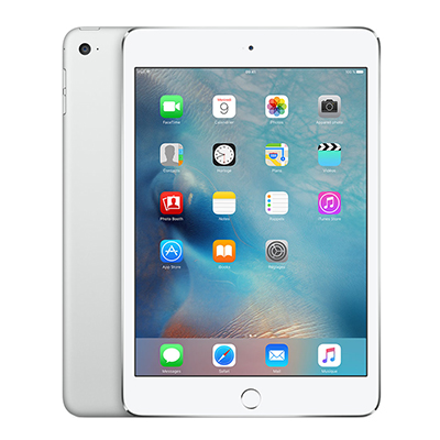Apple iPad mini 4 avec écran Retina Wi-Fi + Cellular 64 Go Argent