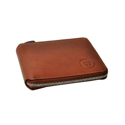 Nouveau portefeuille en cuir marron