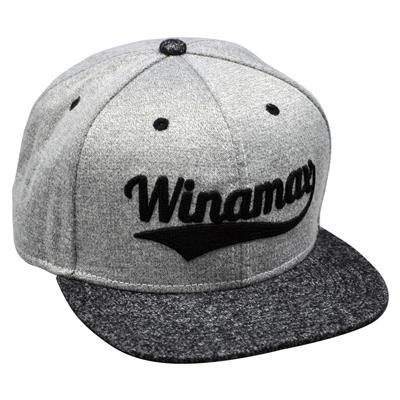 Nouvelle casquette grise Winamax Virgule
