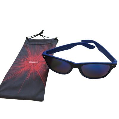 Nouvelle paire de lunettes bleue !