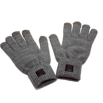 Paire de gants grise